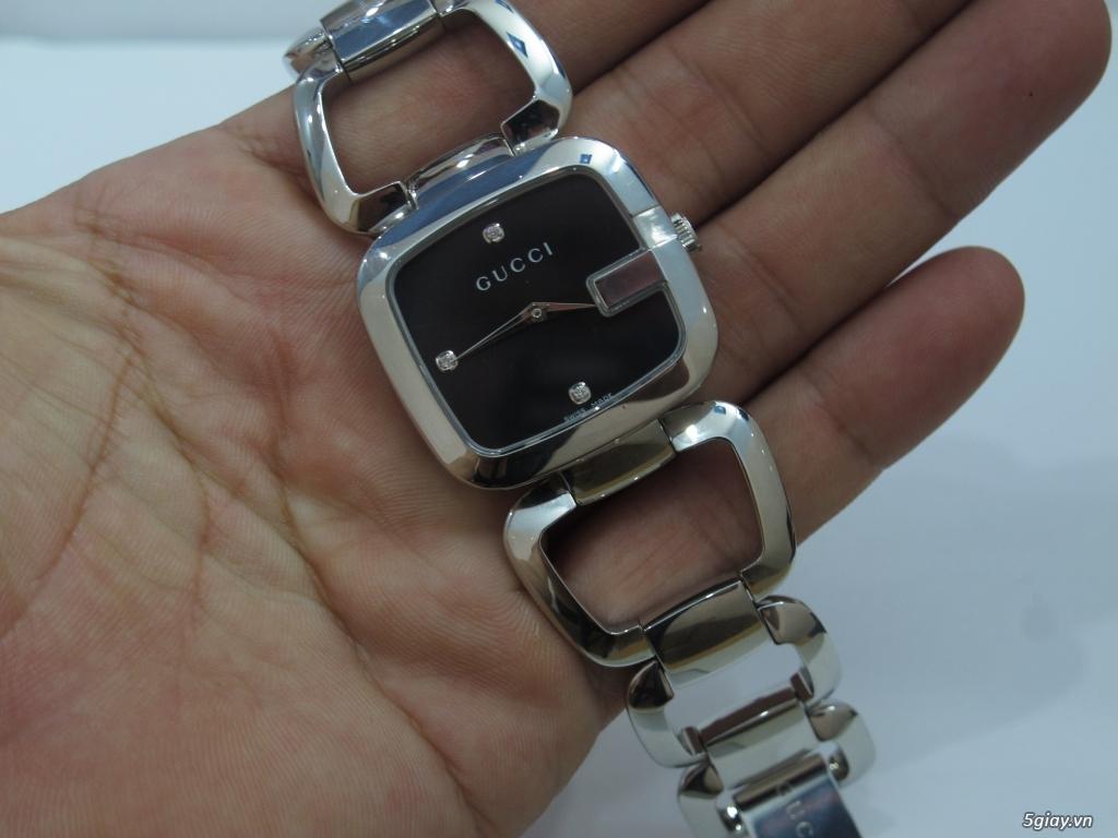 Đồng hồ guuuu Nữ mặt số đính kim cương giá bình dân - 4