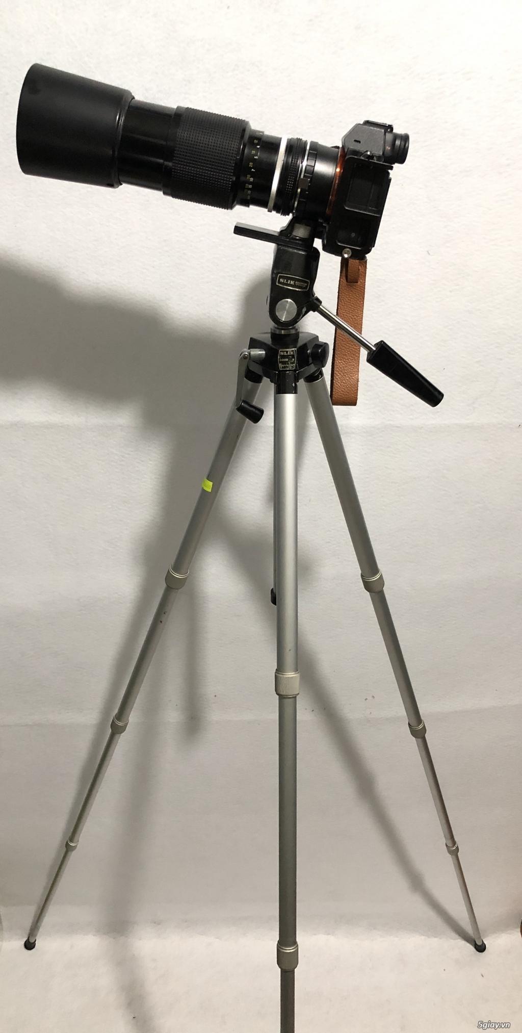 Chân máy ảnh nội địa nhật Slik Handy Goodman full kim loại, tải khủng! - 7