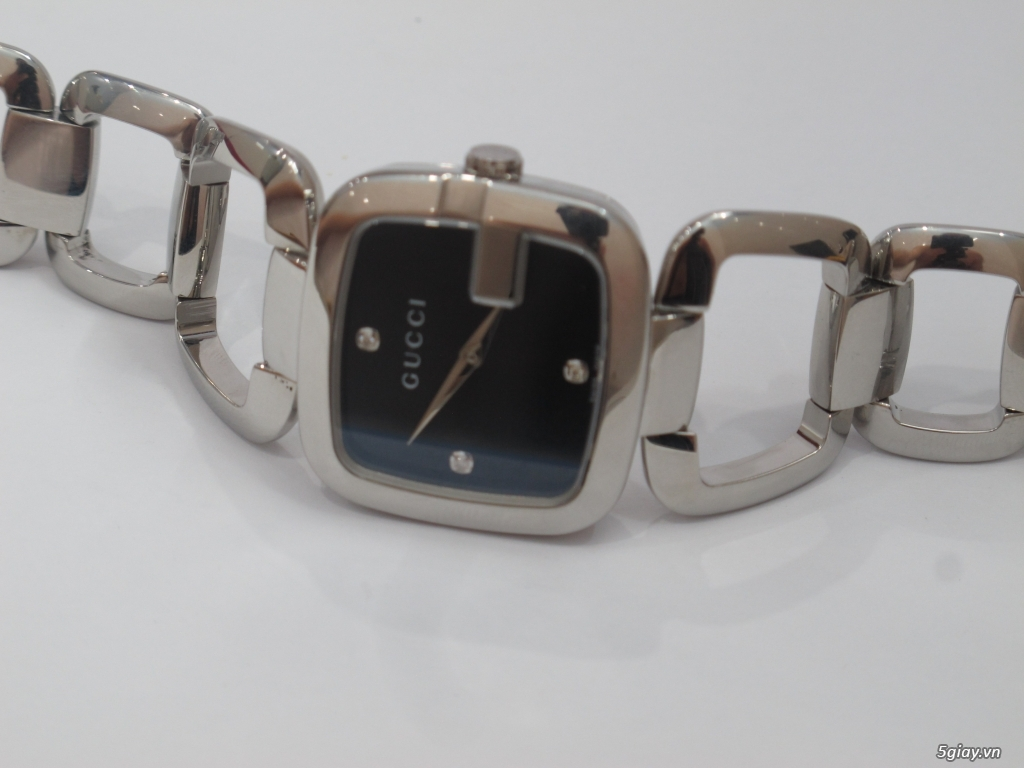 Đồng hồ guuuu Nữ mặt số đính kim cương giá bình dân - 9