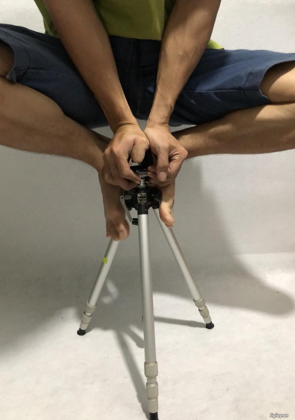 Chân máy ảnh nội địa nhật Slik Handy Goodman full kim loại, tải khủng! - 9