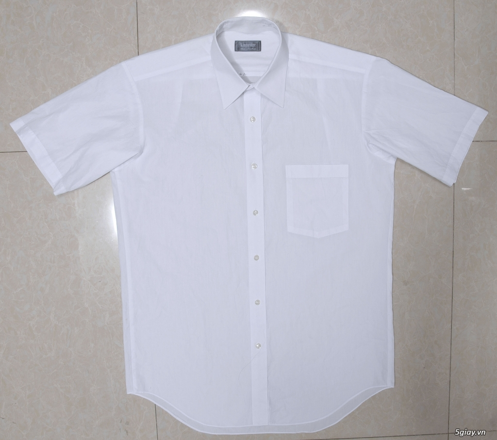 5 áo sơ mi trắng Japan chuẩn công sở mời anh em Bid khởi điểm 120k/ms ET 22h59' - 25/8/2019 - 11