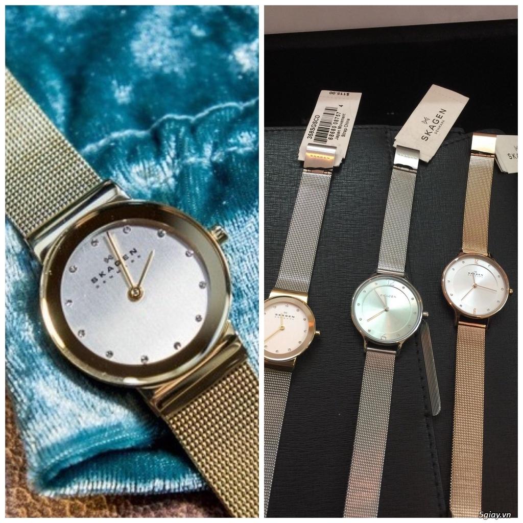 Chuyên đồng hồ Michaek Kors, Burberry, Armani, Skakgen chính hãng - 13