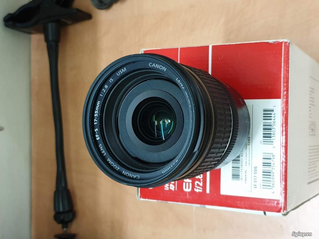 Canon EF 17-55mm F2.8 IS USM mua tại máy ảnh Xuân Sơn - 1