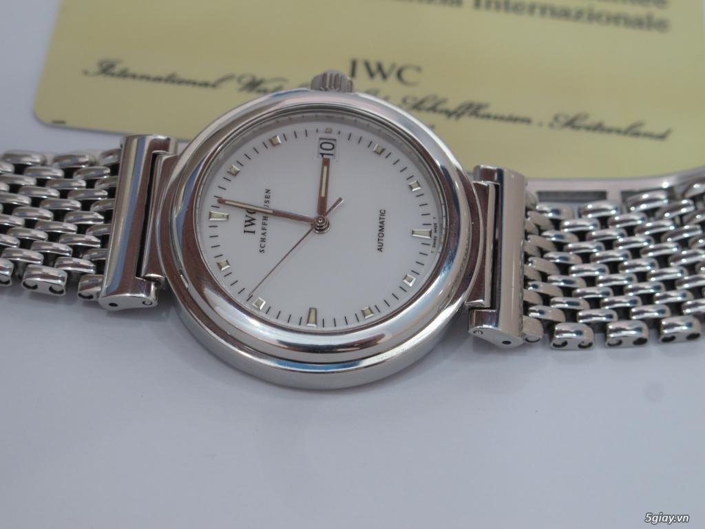 đồng hồ IWC schaffhausen automatic fullbox hộp thẻ - 7