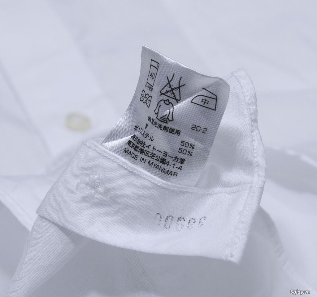 5 áo sơ mi trắng Japan chuẩn công sở mời anh em Bid khởi điểm 120k/ms ET 22h59' - 25/8/2019 - 10