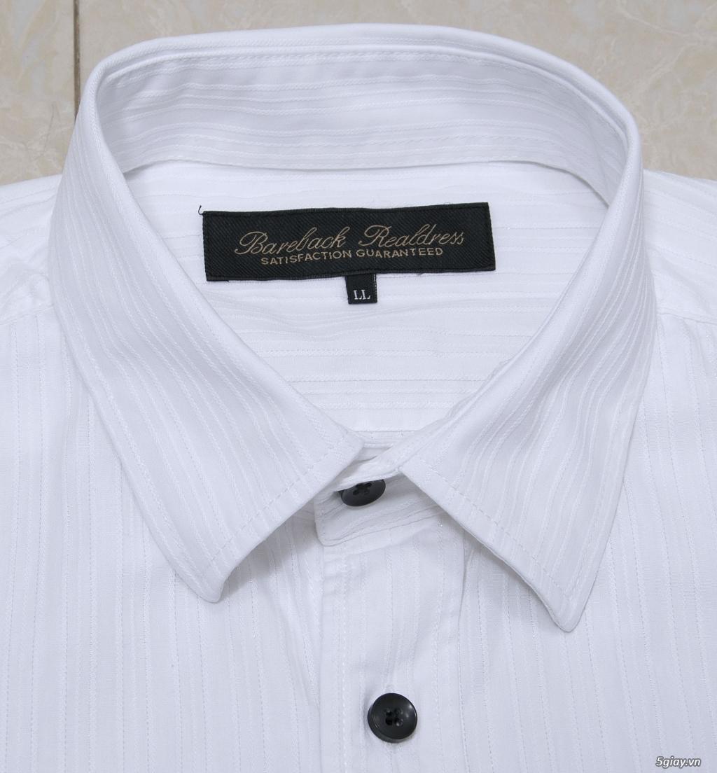 5 áo sơ mi trắng Japan chuẩn công sở mời anh em Bid khởi điểm 120k/ms ET 22h59' - 18/8/2019. - 1