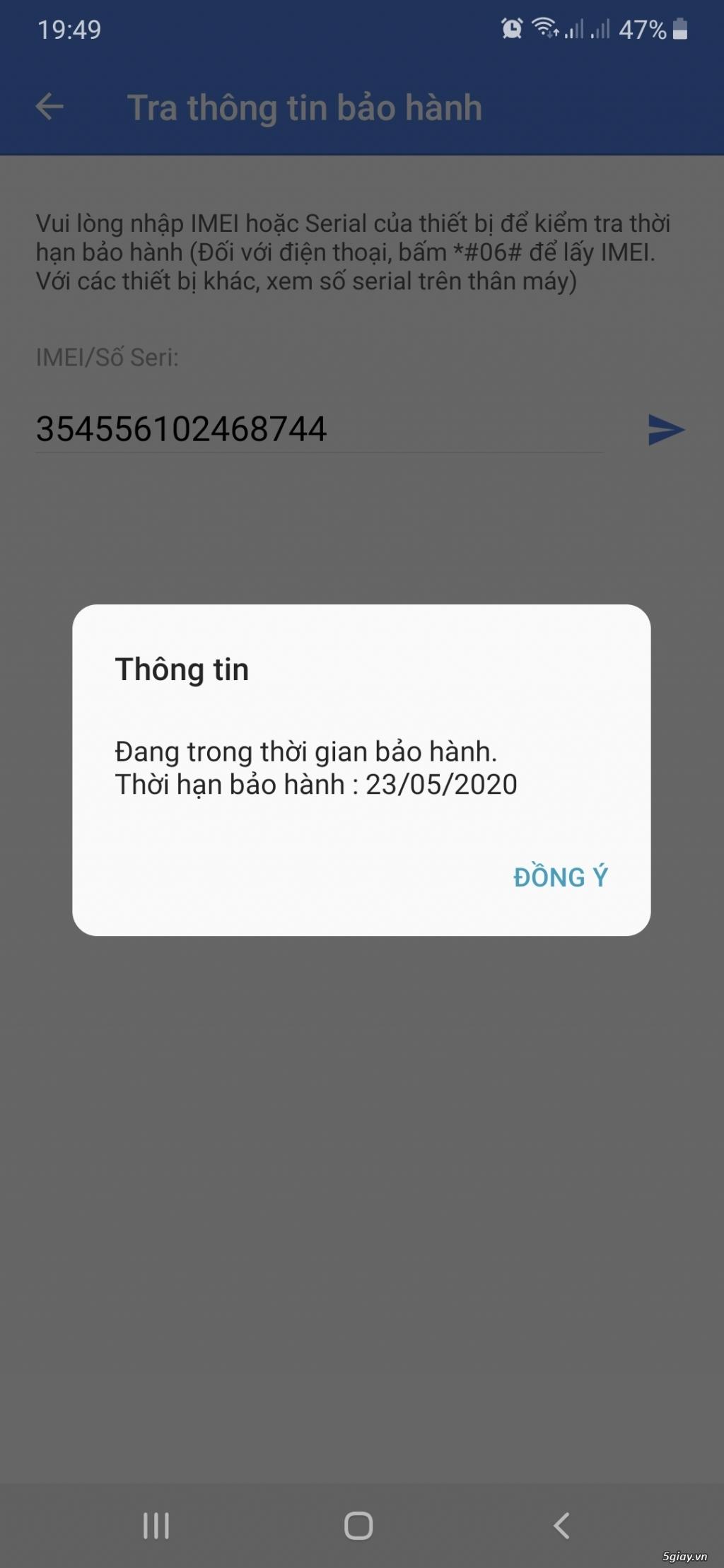 Samsung M20 màu xám, fullbox 99,99%, BH 23/5/2020