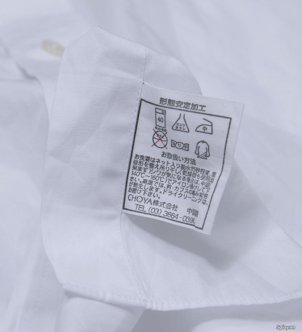 5 áo sơ mi trắng Japan chuẩn công sở mời anh em Bid khởi điểm 120k/ms ET 22h59' - 25/8/2019 - 14