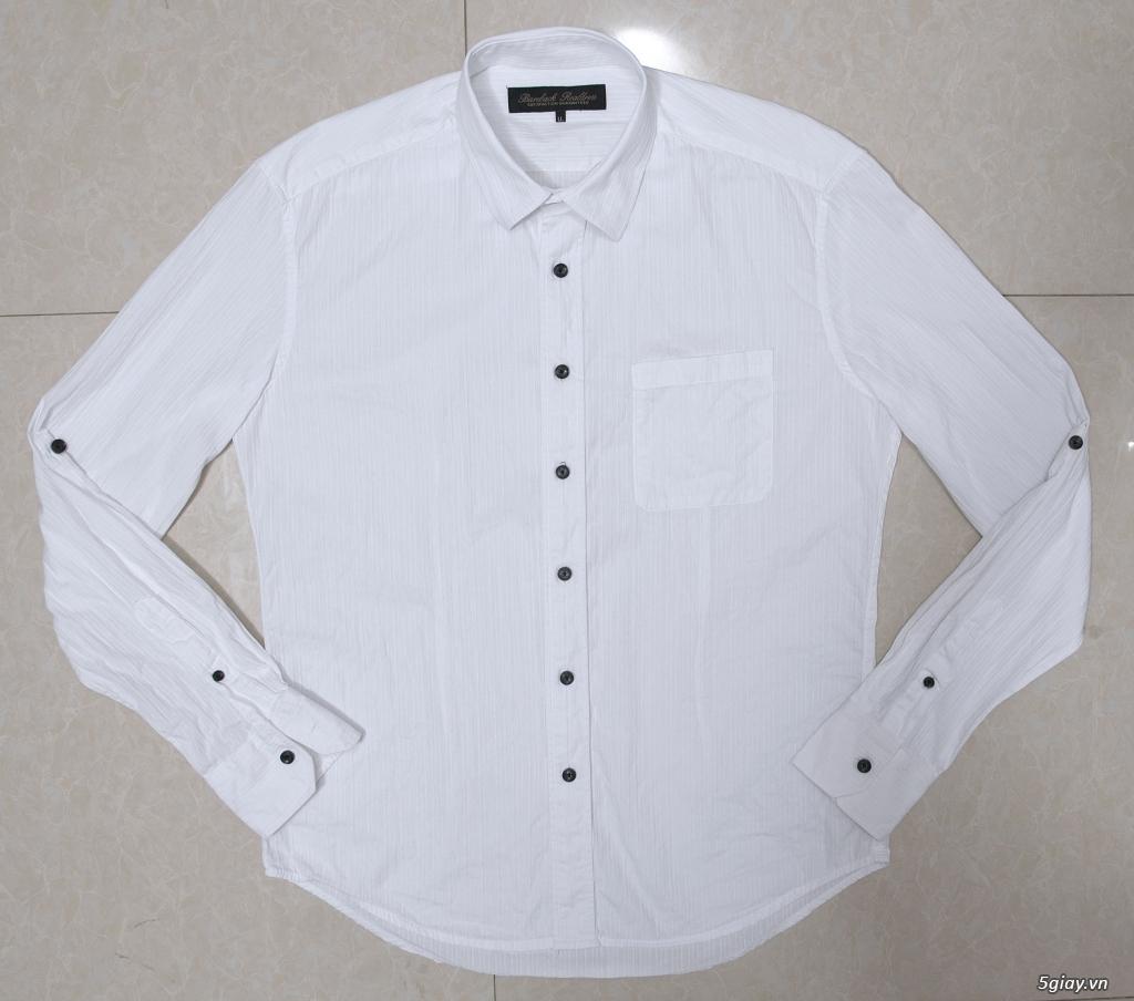 5 áo sơ mi trắng Japan chuẩn công sở mời anh em Bid khởi điểm 120k/ms ET 22h59' - 18/8/2019.