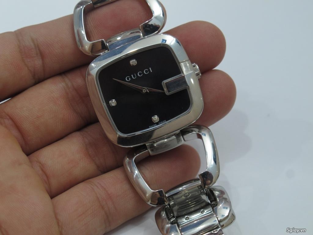 Đồng hồ guuuu Nữ mặt số đính kim cương giá bình dân - 14