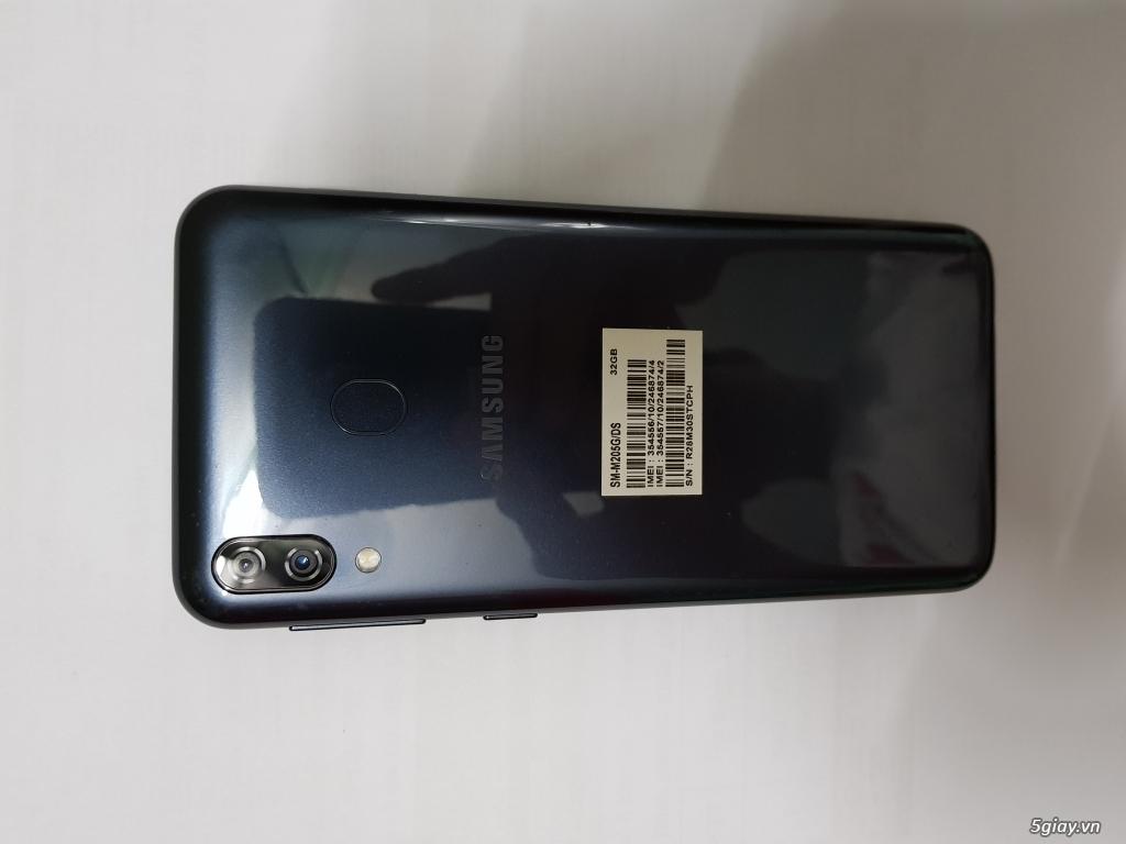 Samsung M20 màu xám, fullbox 99,99%, BH 23/5/2020 - 3