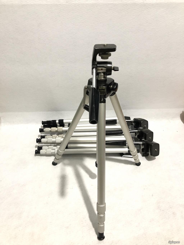 Chân máy ảnh nội địa nhật Slik Handy Goodman full kim loại, tải khủng! - 2