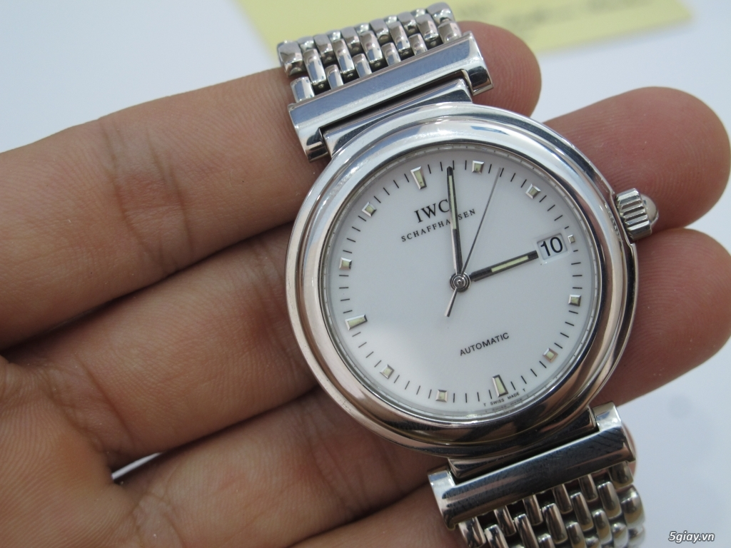 đồng hồ IWC schaffhausen automatic fullbox hộp thẻ - 13