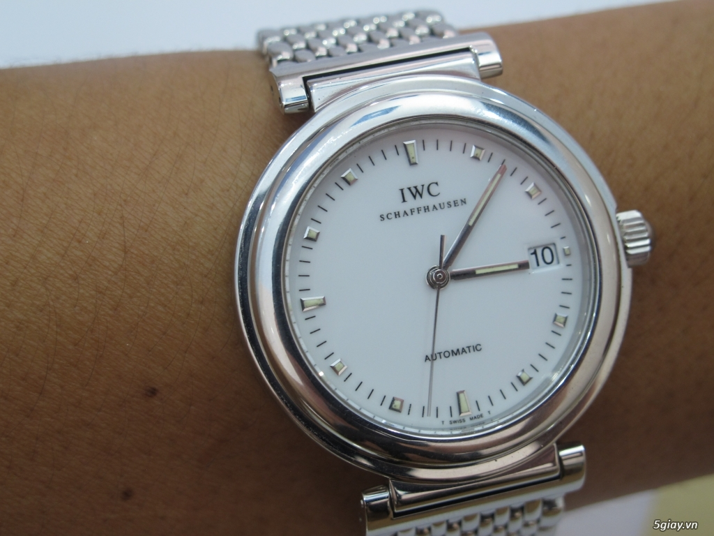 đồng hồ IWC schaffhausen automatic fullbox hộp thẻ - 10