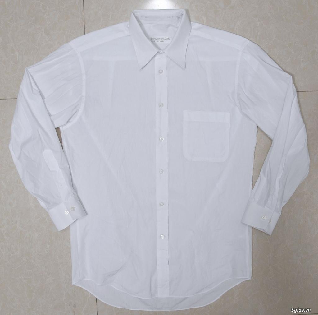 5 áo sơ mi trắng Japan chuẩn công sở mời anh em Bid khởi điểm 120k/ms ET 22h59' - 25/8/2019 - 15