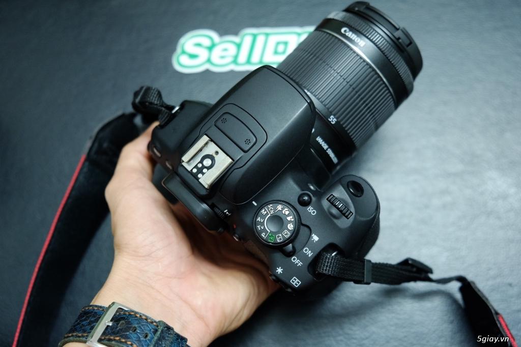 Vài Combo Canon 750D / 700D / 600D + kit 18-55 rất mới - 7