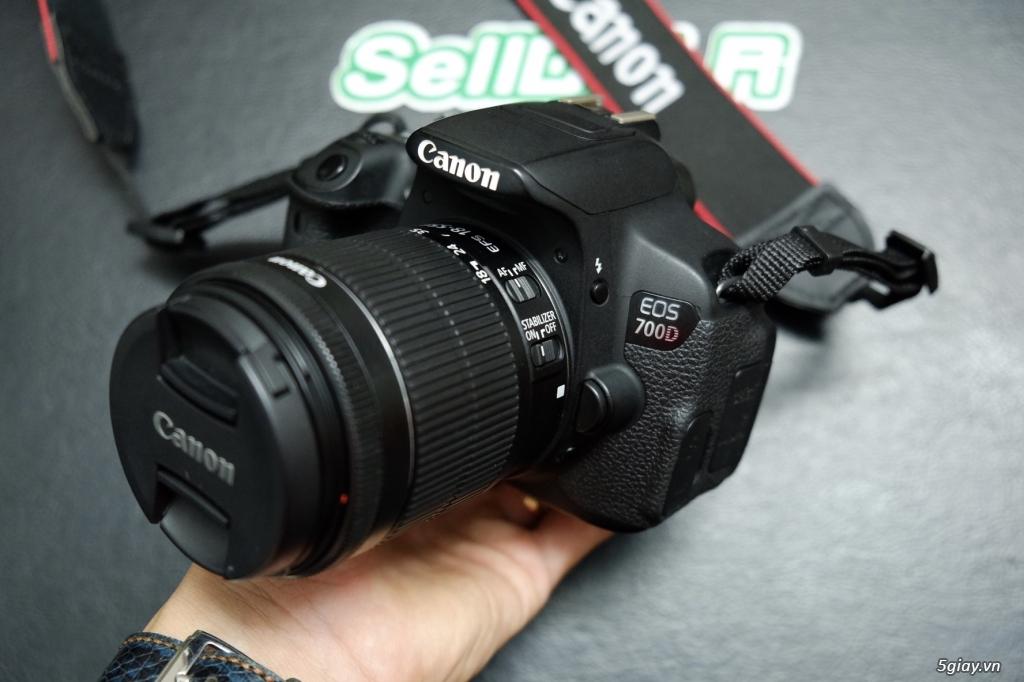 Vài Combo Canon 750D / 700D / 600D + kit 18-55 rất mới - 6