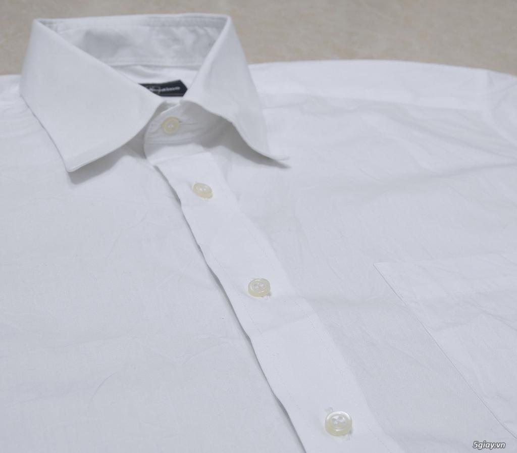 5 áo sơ mi trắng Japan chuẩn công sở mời anh em Bid khởi điểm 120k/ms ET 22h59' - 18/8/2019. - 16