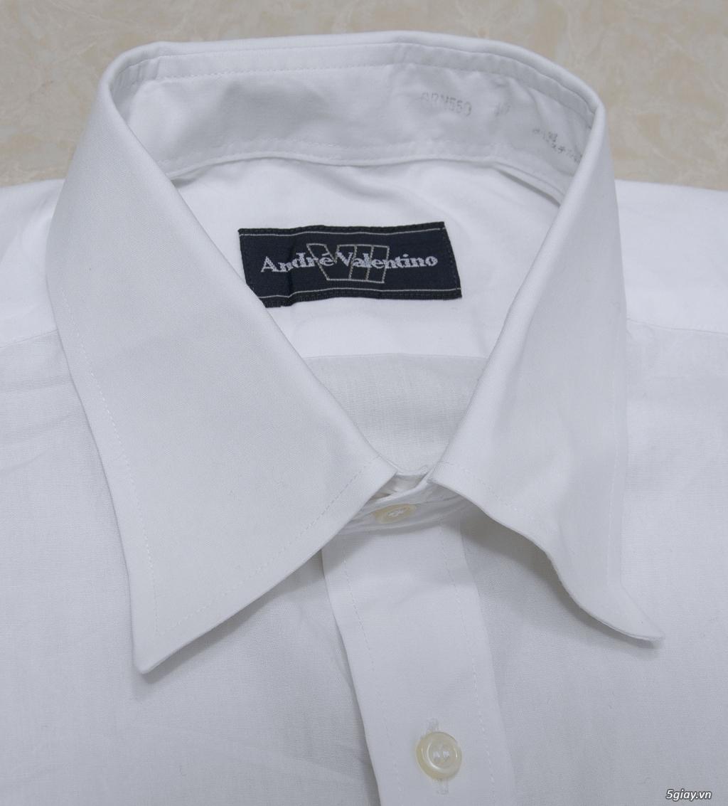 5 áo sơ mi trắng Japan chuẩn công sở mời anh em Bid khởi điểm 120k/ms ET 22h59' - 18/8/2019. - 15