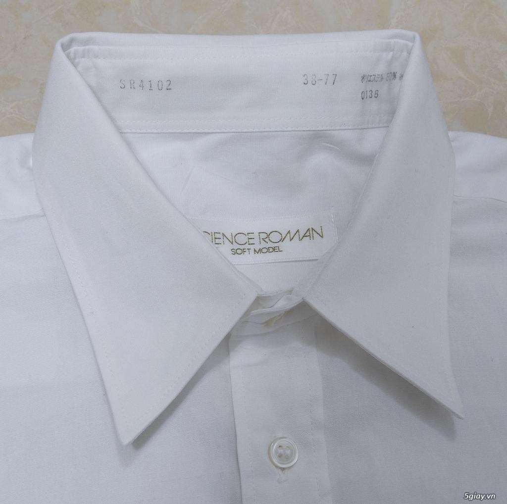 5 áo sơ mi trắng Japan chuẩn công sở mời anh em Bid khởi điểm 120k/ms ET 22h59' - 25/8/2019 - 16