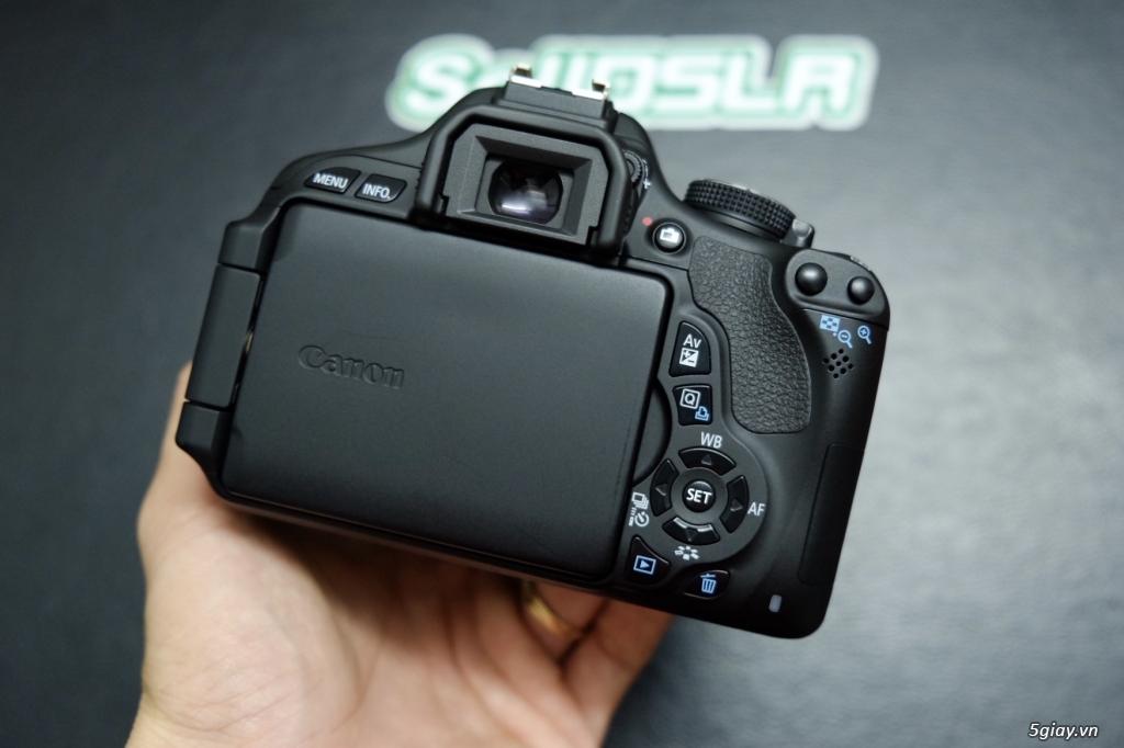 Vài Combo Canon 750D / 700D / 600D + kit 18-55 rất mới - 12