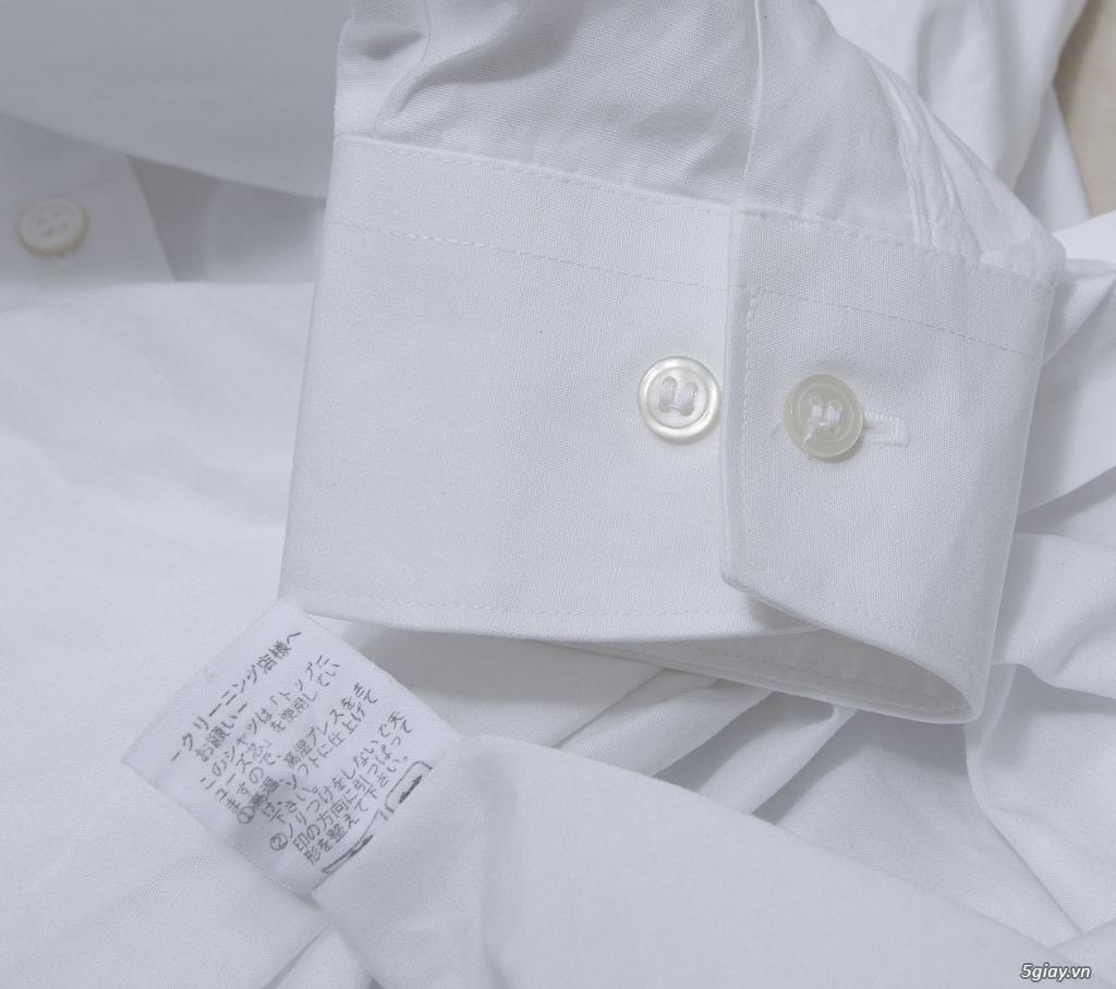 5 áo sơ mi trắng Japan chuẩn công sở mời anh em Bid khởi điểm 120k/ms ET 22h59' - 25/8/2019 - 18