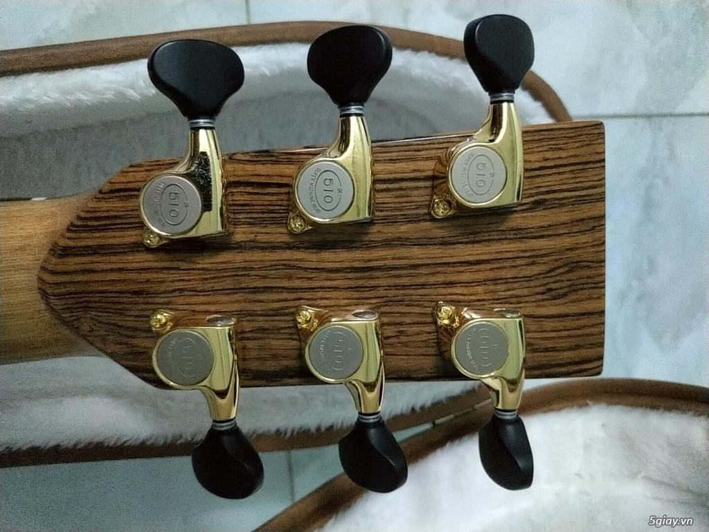 Bán đàn guitar Anguitar - OM450 (Full Koa Hawaii) - 4