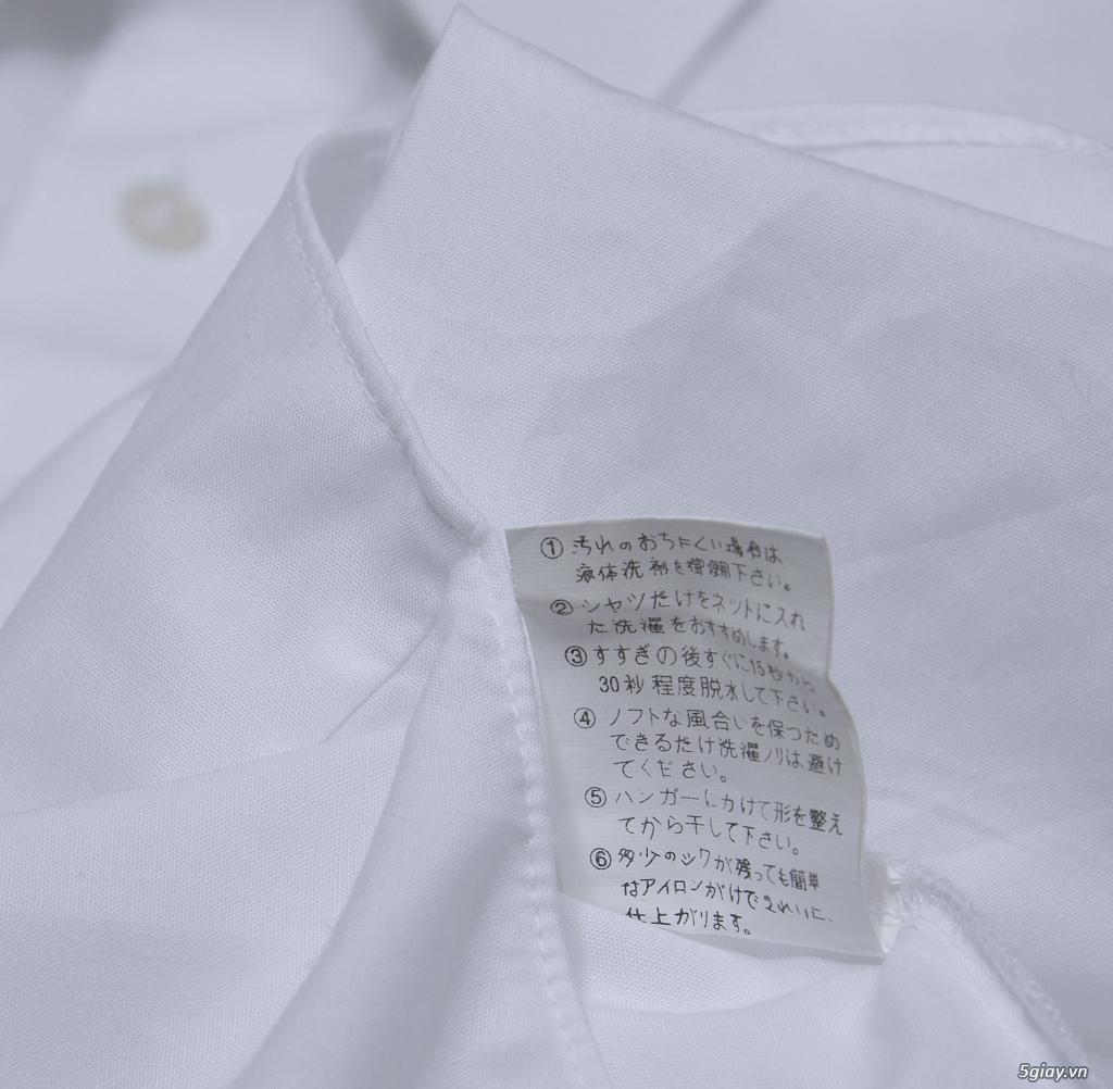 5 áo sơ mi trắng Japan chuẩn công sở mời anh em Bid khởi điểm 120k/ms ET 22h59' - 25/8/2019 - 6