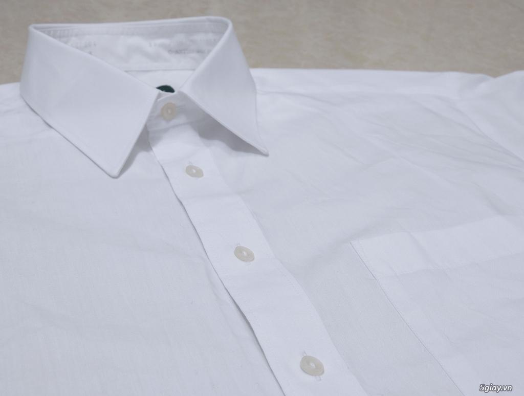 5 áo sơ mi trắng Japan chuẩn công sở mời anh em Bid khởi điểm 120k/ms ET 22h59' - 25/8/2019 - 5