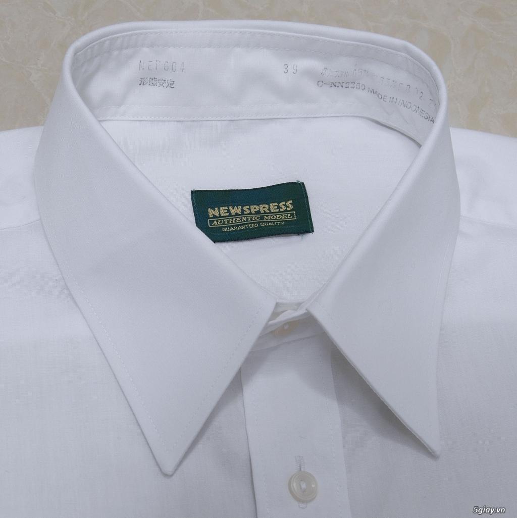 5 áo sơ mi trắng Japan chuẩn công sở mời anh em Bid khởi điểm 120k/ms ET 22h59' - 25/8/2019 - 4