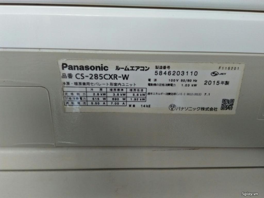 Máy lạnh cũ VIP 1.5HP PANASONIC, màn hình, autoclean, date 2015 - 2