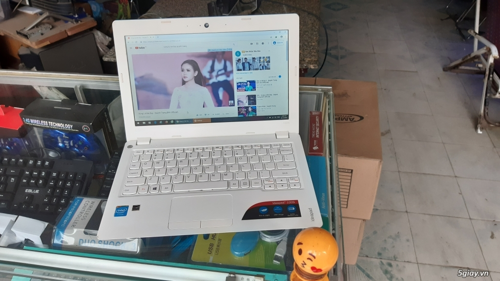 Bán Laptop Lenovo 100s, mỏng nhẹ 1kg, 4CPU, R2G, SSD 32G, Pin 6h, rẻ - 4