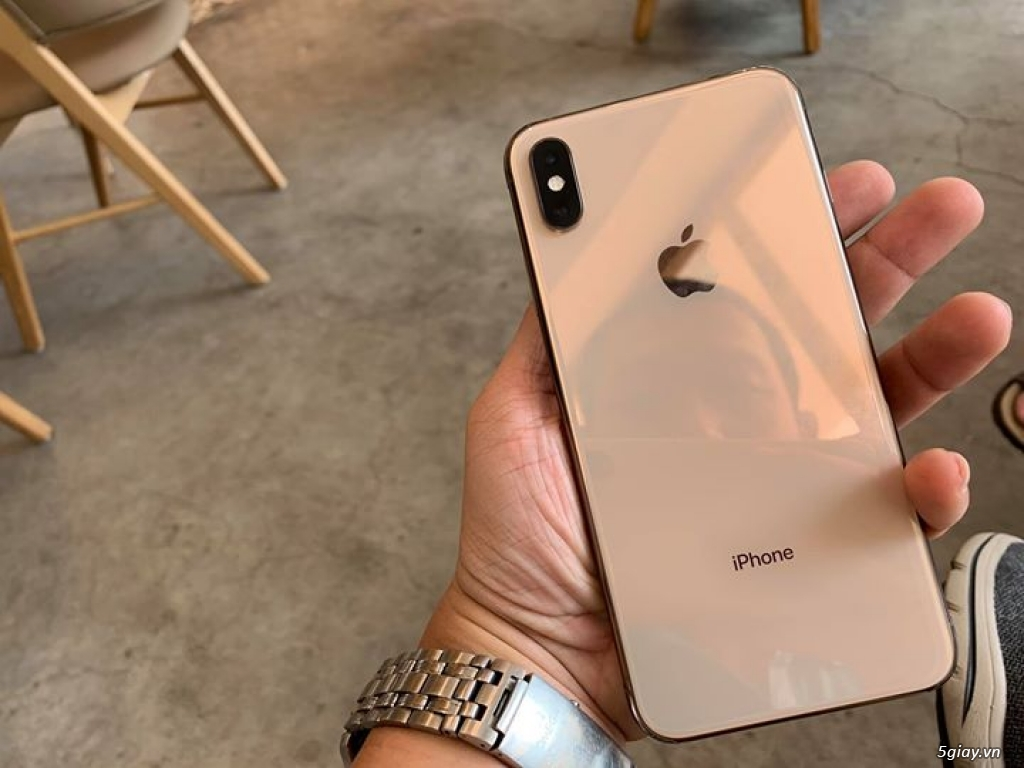 Iphone Xs Max Gold 256 GB - 4