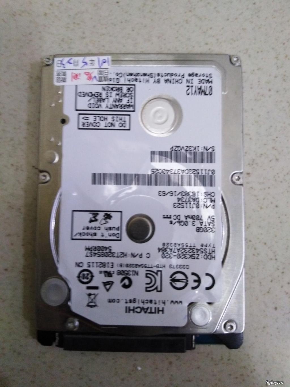 Bán HDD 320G Sata laptop giá rẽeeeeee