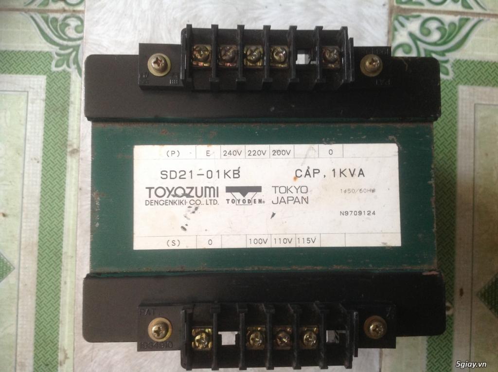 Biến áp cách ly Nhật 500VA -10KVA, lọc nguồn âm thanh..... - 3