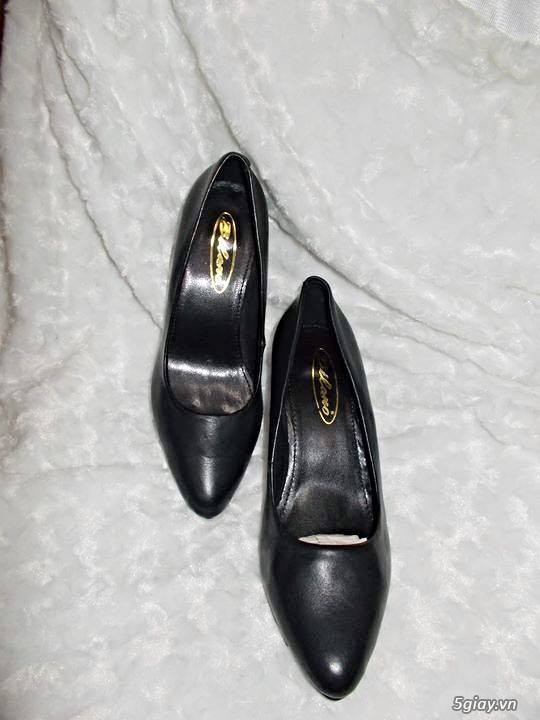 Thanh lý lô giày da nam nữ tồn kho - 1