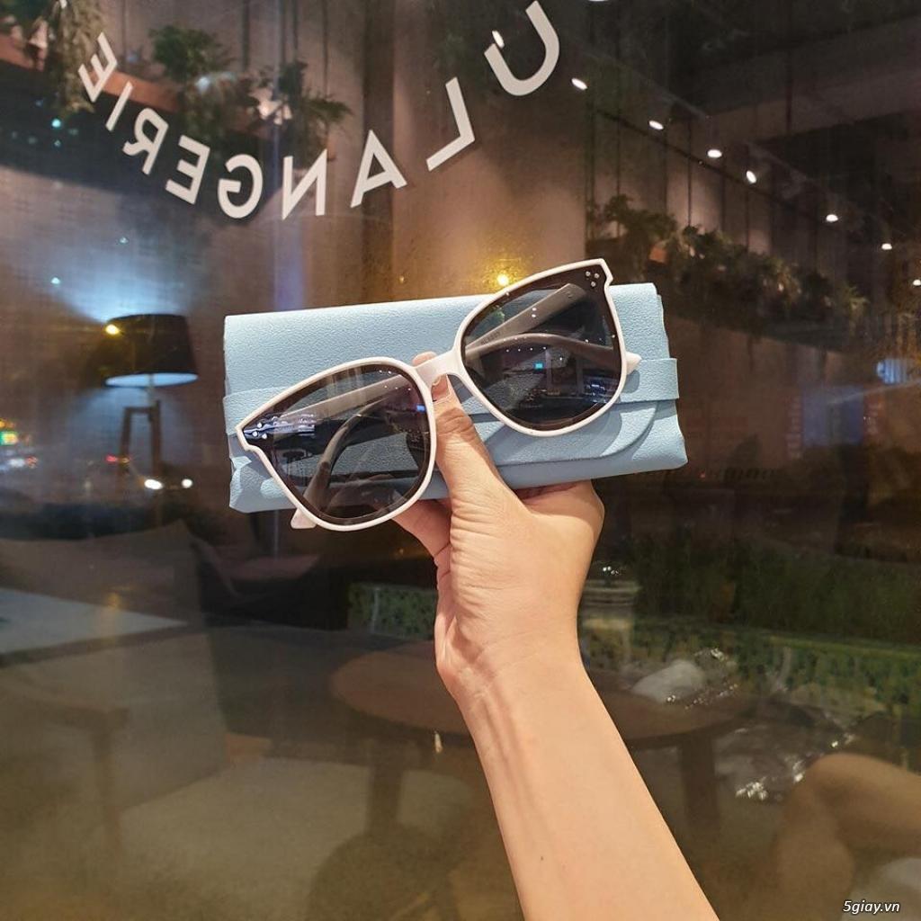 kính mát nữ V Viền trắng 0079 - 1