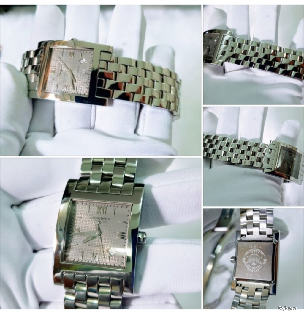 Phúc-Đồng Hồ (BUY & SELL AUTHENTIC WATCHES) Longines-Omega-Tissot-... - 23