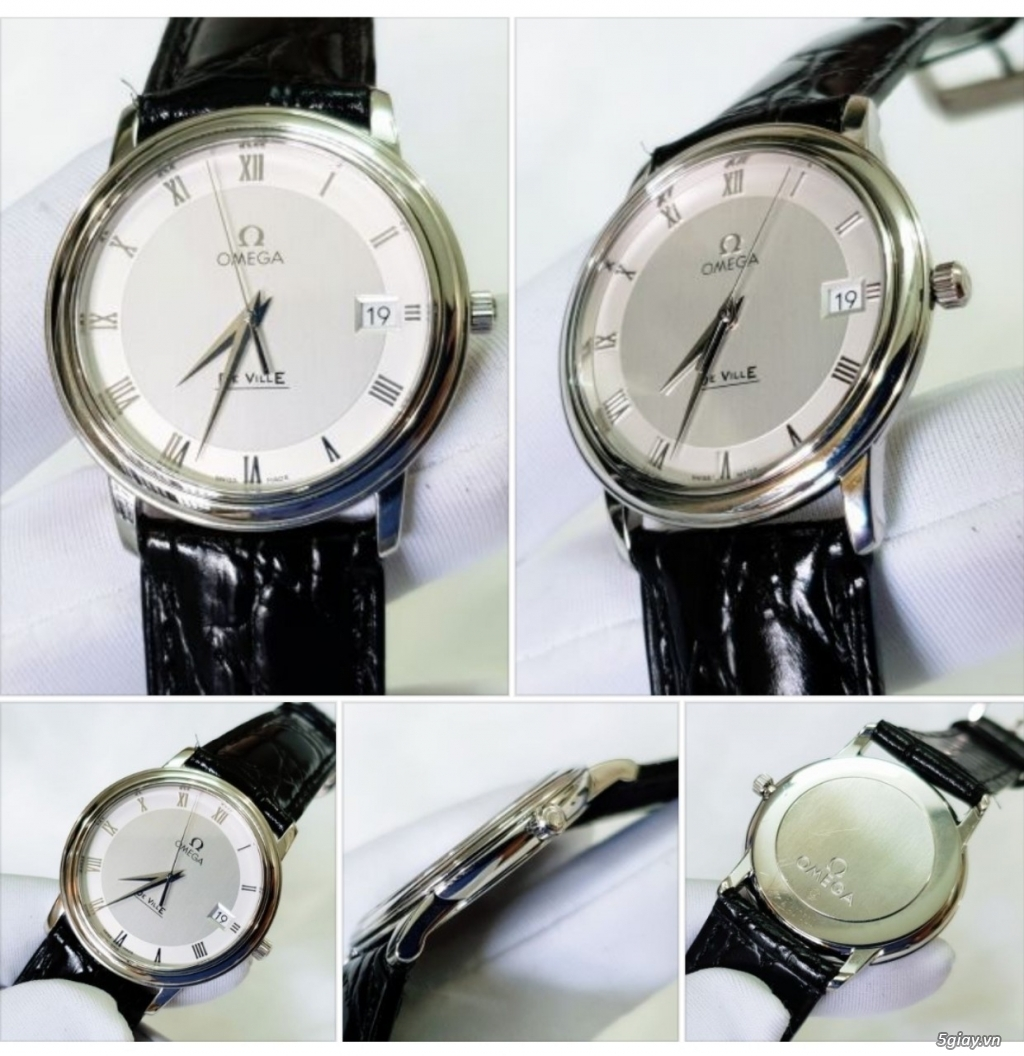 Phúc-Đồng Hồ (BUY & SELL AUTHENTIC WATCHES) Longines-Omega-Tissot-... - 22