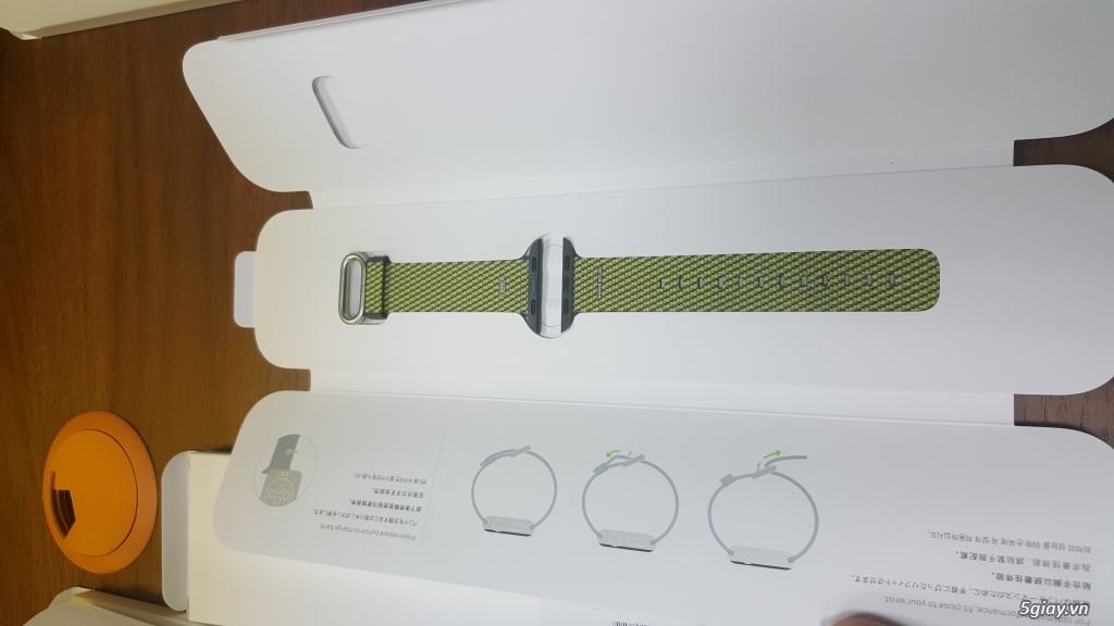 Dây Apple Watch chính hãng mới 100%, full box - 1