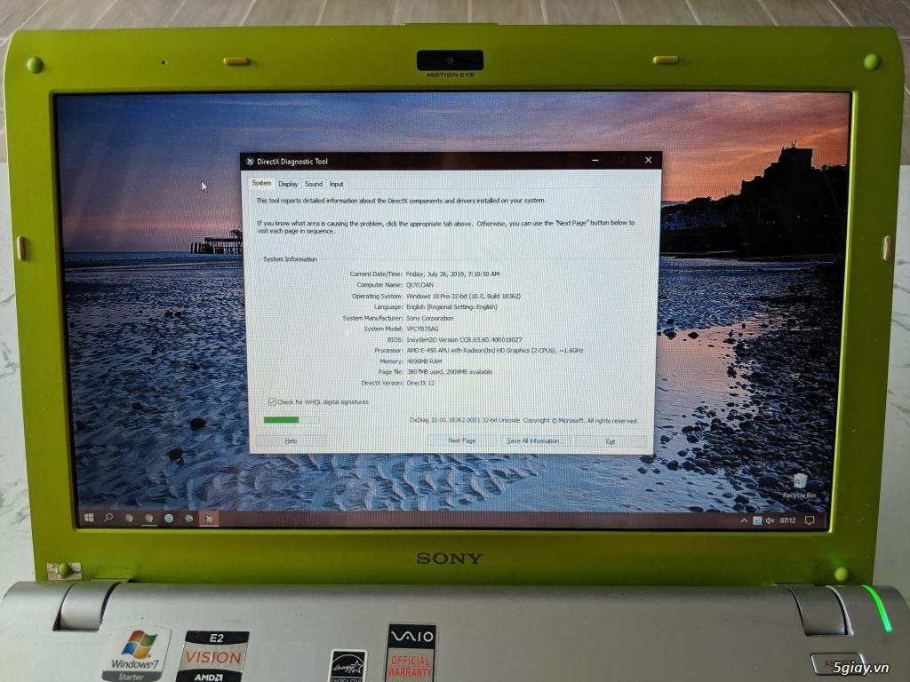Laptop Sony Vaio Y Series VPCYB35AG - 4