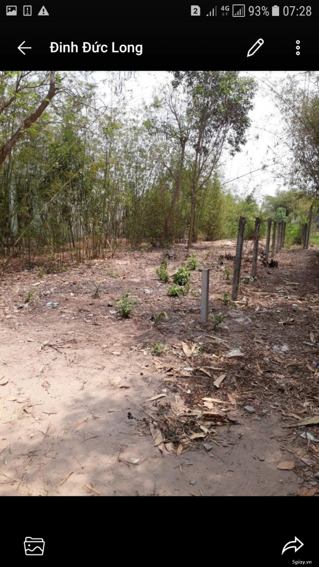 Đất thổ cư 75m2 670tr củ chi chính chủ - 4