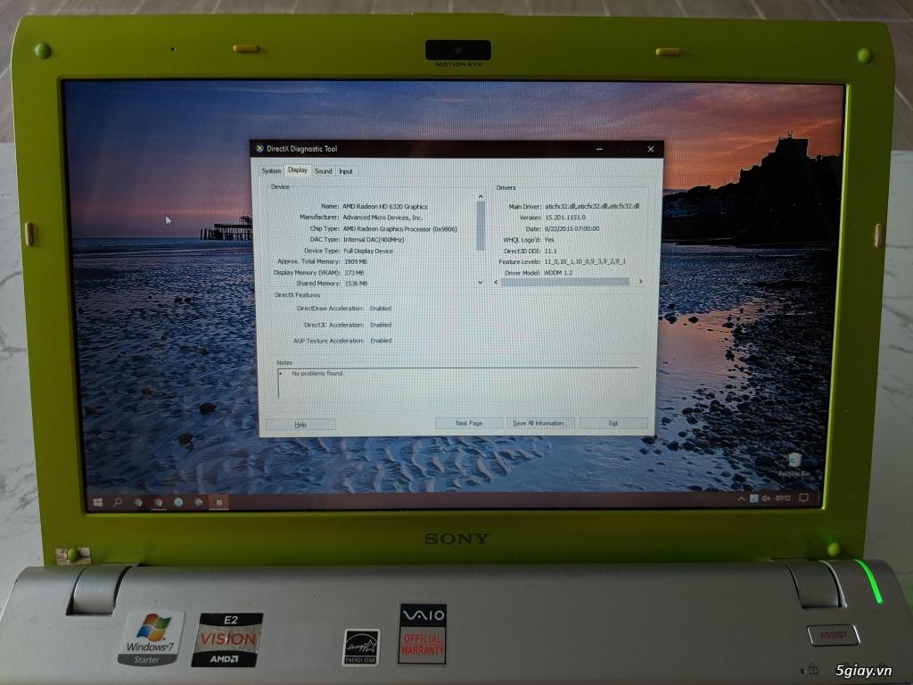 Laptop Sony Vaio Y Series VPCYB35AG - 3