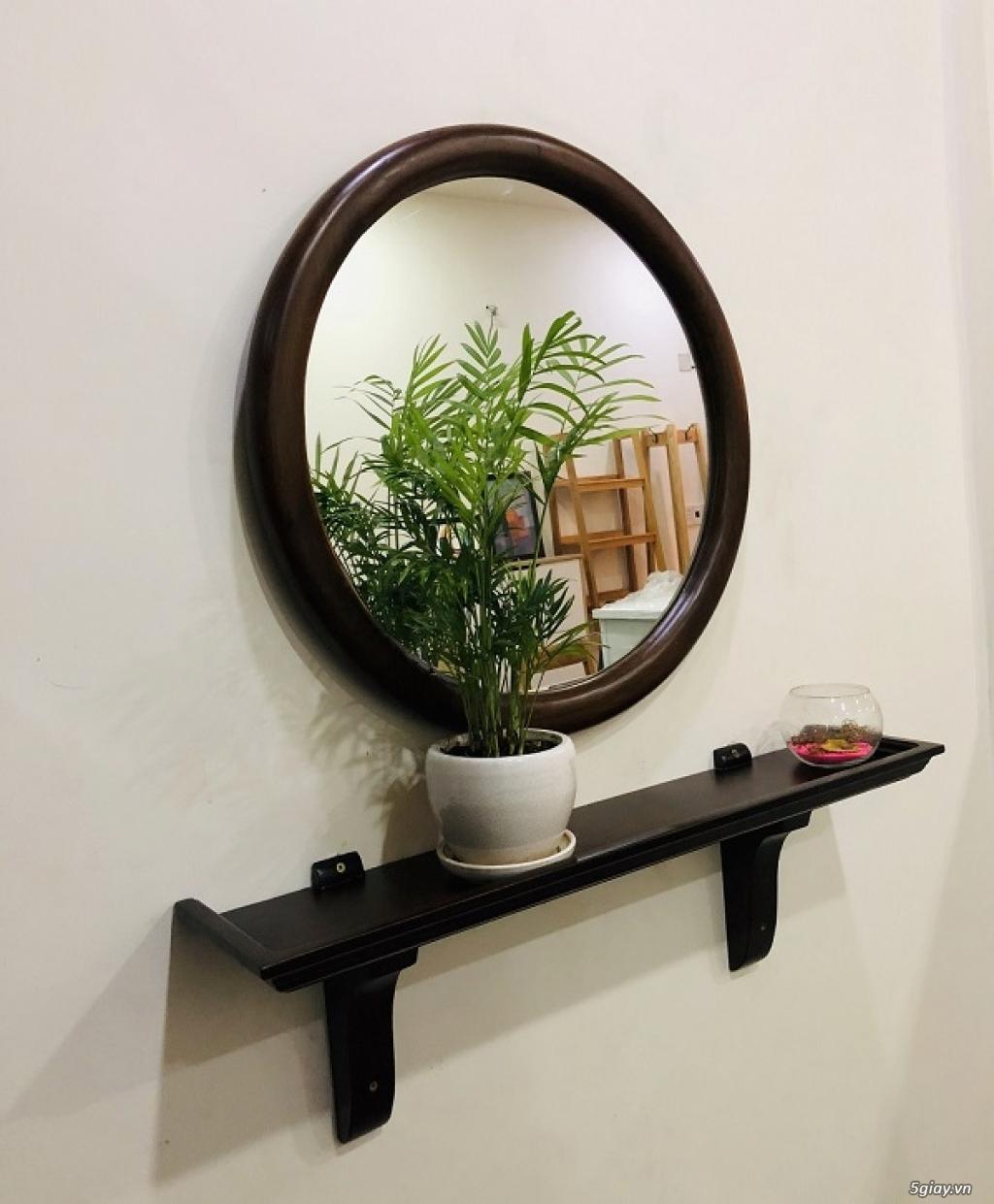 Gương Soi Gỗ Sồi - NỘI THẤT HIỆN ĐẠI AN THANH HOME - 2