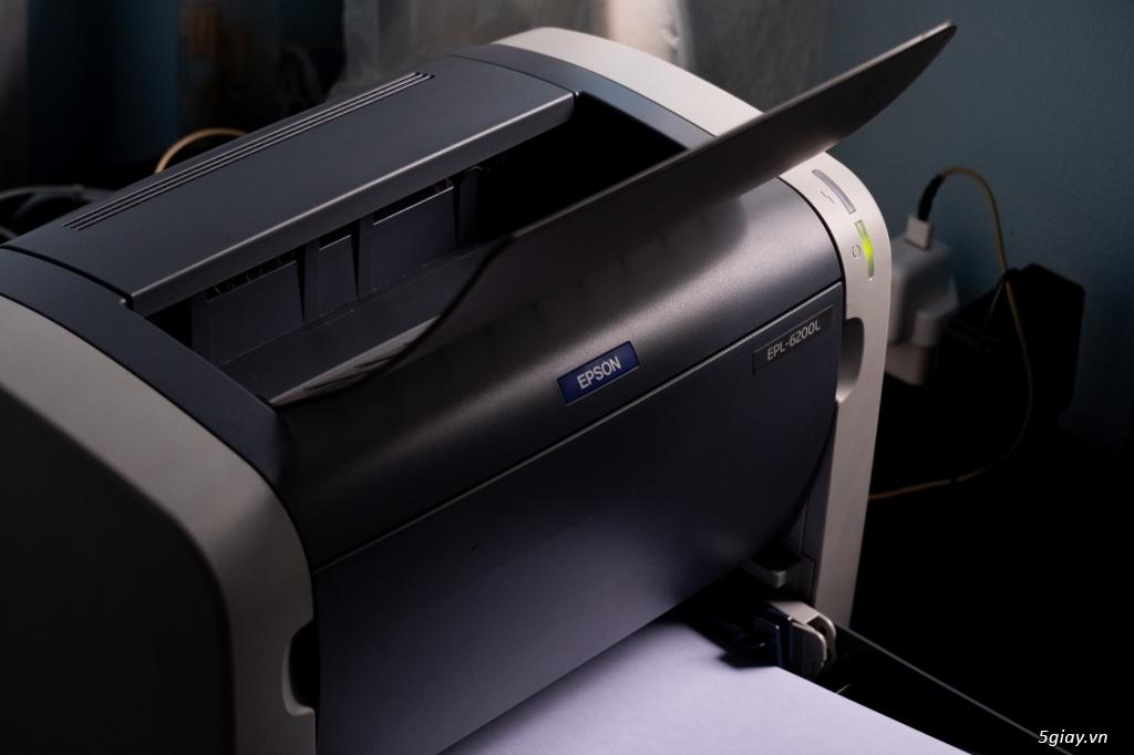 Máy In Laser Trắng Đen EPSON EPL-6200L - 1