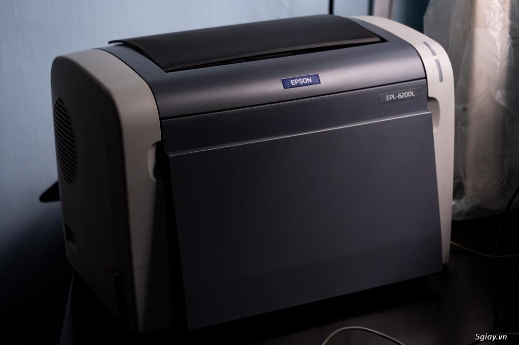 Máy In Laser Trắng Đen EPSON EPL-6200L - 3
