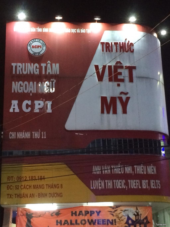 [BÁN/GỌI ĐẦU TƯ] Trung tâm Anh Ngữ Tri Thức Việt Mỹ ACPI - 1