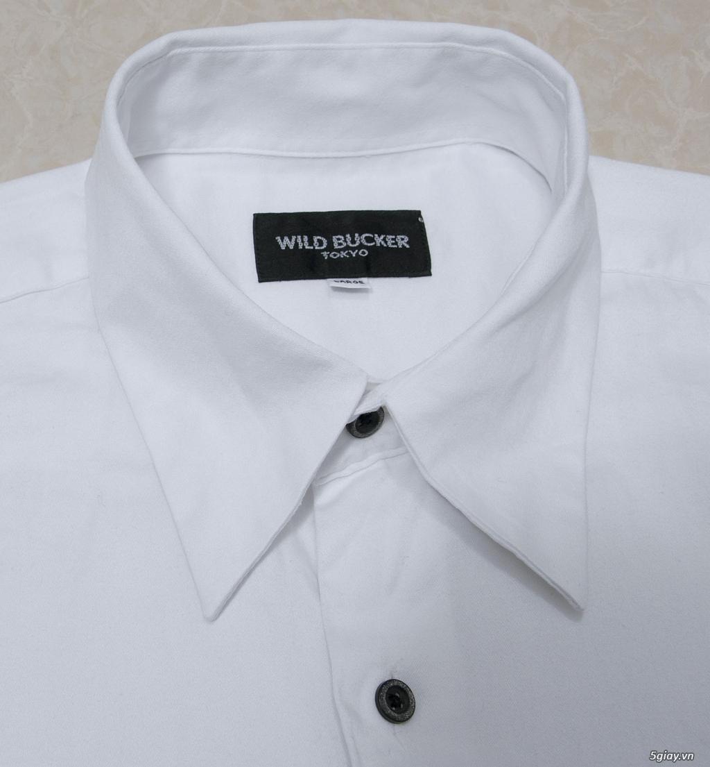 5 áo sơ mi trắng Japan chuẩn công sở mời anh em Bid khởi điểm 120k/ms ET 22h59' - 25/8/2019 - 1