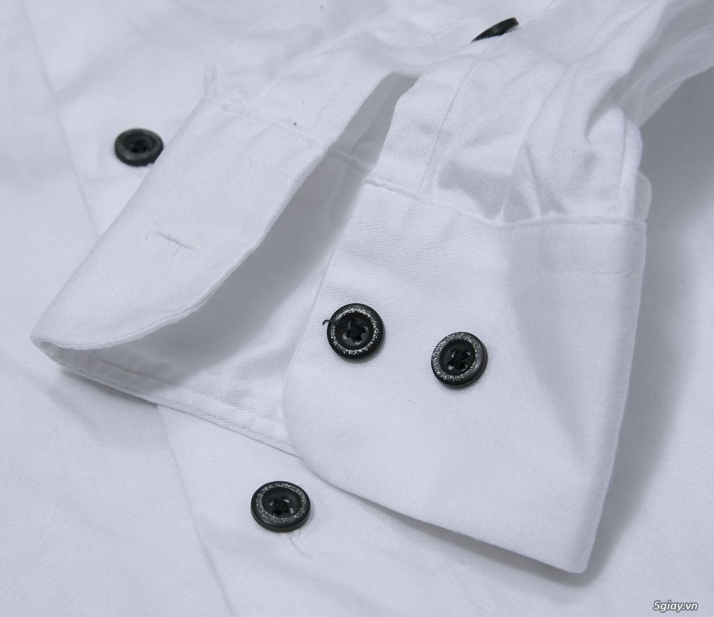 5 áo sơ mi trắng Japan chuẩn công sở mời anh em Bid khởi điểm 120k/ms ET 22h59' - 25/8/2019 - 2