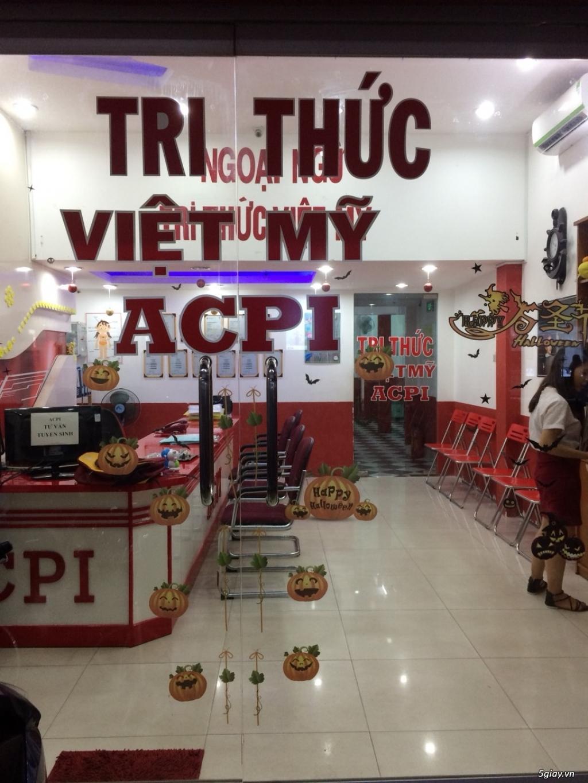 [BÁN/GỌI ĐẦU TƯ] Trung tâm Anh Ngữ Tri Thức Việt Mỹ ACPI - 2